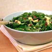 Middle Eastern Spinach Salad.
