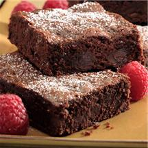 Mocha Double Chocolate Brownies.