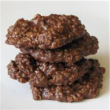 No-Bake Chocolate Cookies.