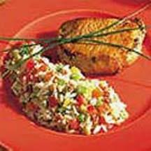 Nutty Rice and Chile Salad.