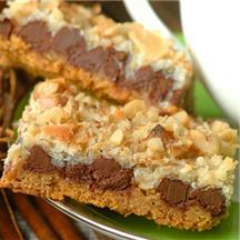 Outrageous Cookie Bars.