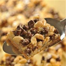 Peanut Butter Chocolate Layer Bars.