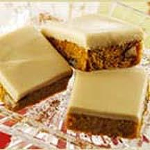 Penuche Pumpkin Bars.