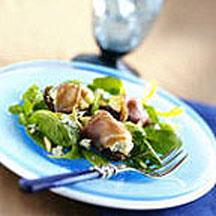 Prosciutto-Wrapped Figs with Blue Cheese.