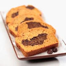 Pumpkin-Chocolate Quick Bread.