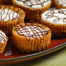 Pumpkin Cheesecake Tarts.