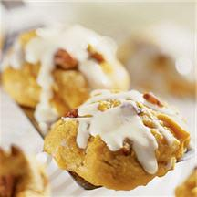 Pumpkin Orange Cookies.