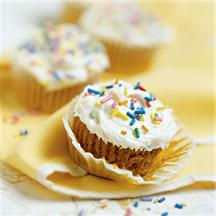 Quick and Easy Pumpkin Cupcakes.
