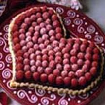 Click for the recipe Raspberry Chocolate Heart Tart from our Valentine's Day Cakes and Cupcakes Recipes Collection.