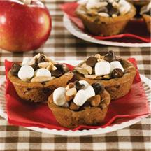 Rocky Road Cookie Cups.