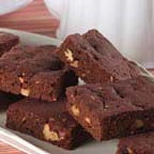 Sensibly Delicious Fudgy Chocolate Brownies.