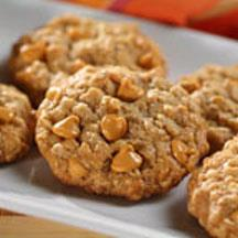 Sensibly Delicious Oatmeal-Butterscotch Cookies.