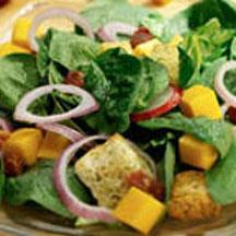 Spinach and Cheddar Salad.