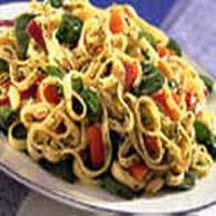 Spinach and Pasta Salad.