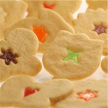 Stained Glass Cookies.