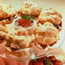 Strawberry Puffs.