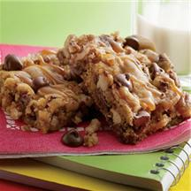 Sweet & Salty Chewy Pecan Bars.