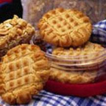 Ultimate Lunchbox Peanut Butter Cookies.