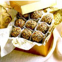 Toasted Almond Truffles.