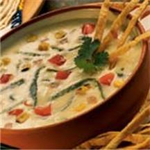 Tortilla Soup with Queso.