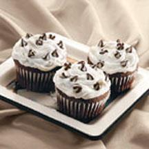 Triple Treat Chocolate Cupcakes.