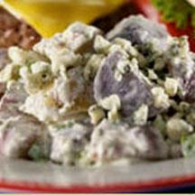 True Blue Potato Salad.