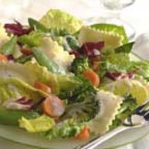 Vegetable Ravioli Salad.