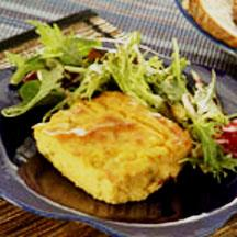 Welsh-Rarebit and Grits Casserole.