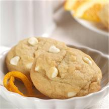 White Chip Orange Cookies.