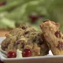 White Chocolate Chip Cranberry Oatmeal Cookies.