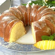 Zesty Lemon Pound Cake.