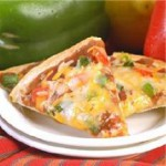 4 Cheese Mexican Tortilla Appetizers recipe