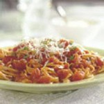 Angel Hair with Tomato Cream Sauce recipe