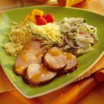 Apricot-Mustard Glazed Pork Tenderloin recipe
