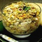 Artichoke Wheat Berry Salad recipe