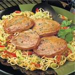 Asian Beef Steaks & Noodles recipe