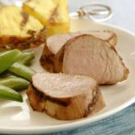 Asian Grilled Pork Tenderloin with Pineapple recipe