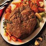Autumn Pot Roast with Root Vegetables recipe