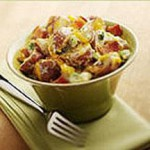 Baked Potato Salad with Aged Cheddar Salad recipe