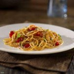 Barilla Whole Grain Spaghetti with Cherry Tomatoes and Basil recipe