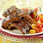 BBQ Baby Back Ribs with Spicy Dry Rub & Mop Sauce recipe