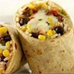 Beef Burrito with Pepper Jack Cheese and Black Beans recipe