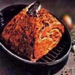 Beef Rib Eye Roast with Savory Sauce recipe