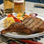 Beer-Grilled Chops recipe