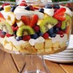 Berries and Cream Smooth Trifle recipe