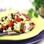 Black Bean and Jicama Salad with Cumin Vinaigrette recipe
