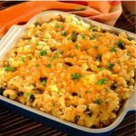 Black Bean Chicken and Cheese Bake recipe