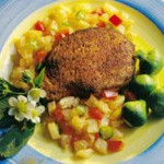 Blackened Chops with Pineapple Salsa recipe