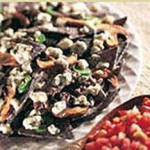 Blue Cheese Nachos recipe
