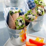 Blueberry Chicken Salad Wraps recipe